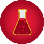 icon of a science beaker